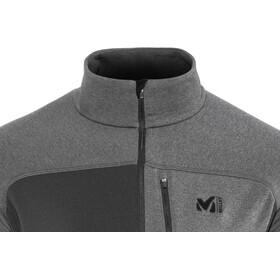 Millet Technostretch Zip Shirt Men, noir/heather tarmac